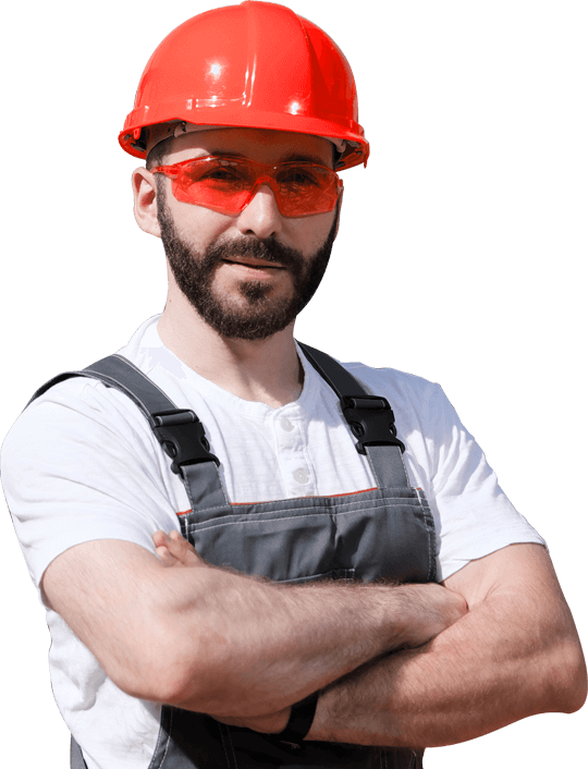 Man Wearing Red Helmet and Shades